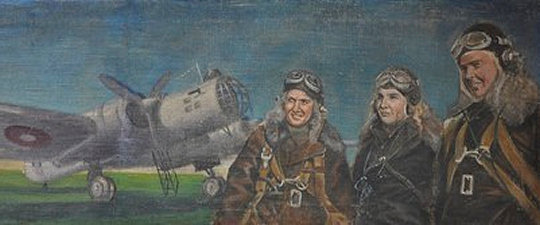 'Heroic Women Pilots' (unknown artist)