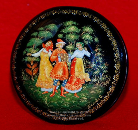 Palekh Lacquer Boxes