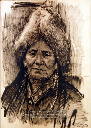 'Woman From The North' by Grigori Inger